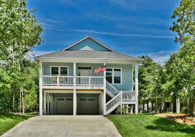 Oak Island Single Family Home For Sale: 138 NE 6th Street