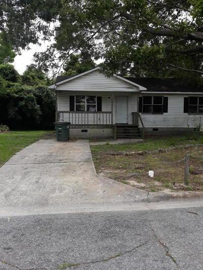 Greenville Single Family Home For Sale: 1601 S Pitt Street