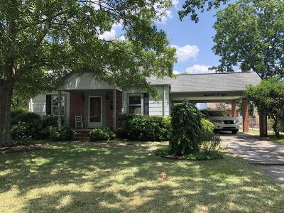 New Bern NC Single Family Home For Sale: $131,000
