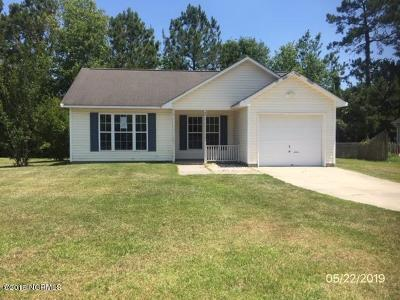 Jacksonville Single Family Home For Sale: 601 Huff Drive