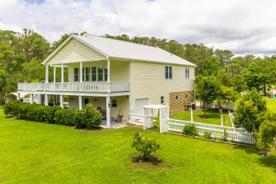 Beaufort Single Family Home For Sale: 621 Russells Creek Road