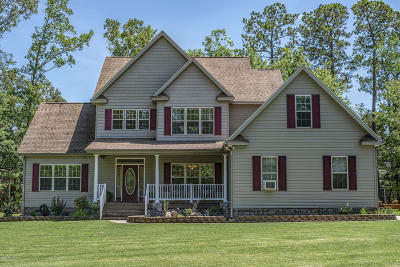 New Bern Single Family Home For Sale: 200 Mickelson Drive