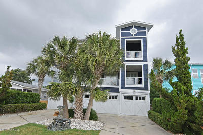 Kure Beach Condo/Townhouse For Sale: 1702 Snapper Lane #A
