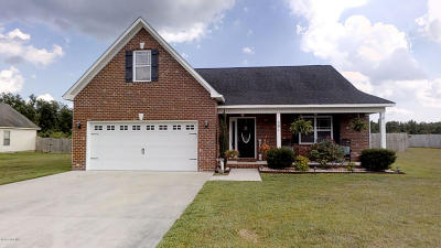 Single Family Home For Sale: 291 Richlands Loop Road