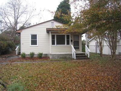 Jacksonville Single Family Home For Sale: 213 Preston Road