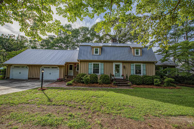New Bern Single Family Home For Sale: 1832 Williamson Drive