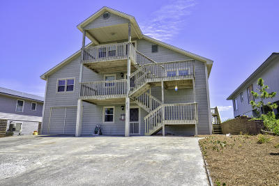 Topsail Beach Single Family Home For Sale: 617 N Anderson Boulevard