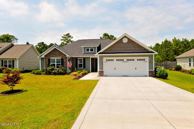 Sneads Ferry Single Family Home For Sale: 218 Marsh Haven Drive