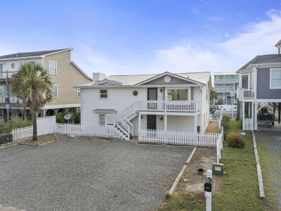 Holden Beach Island, Holden Beach Mainland Single Family Home For Sale: 126 Fayetteville Street