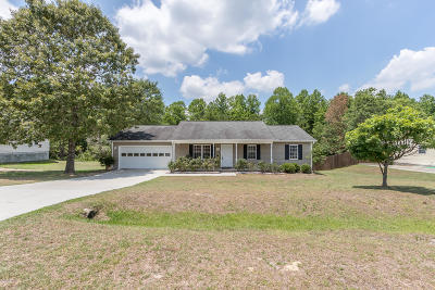 Richlands Single Family Home For Sale: 169 Wheaton Drive