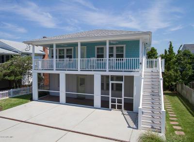 Wrightsville Beach Multi Family Home For Sale: 4 W Asheville Street