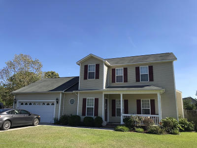 Onslow County Single Family Home For Sale: 300 Crystal Falls Court