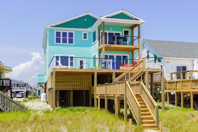 Oak Island Single Family Home For Sale: 2609 E Beach Drive