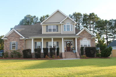 New Bern NC Single Family Home For Sale: $385,000