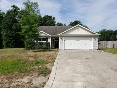 Richlands Single Family Home Active Contingent: 308 Tuscan Court