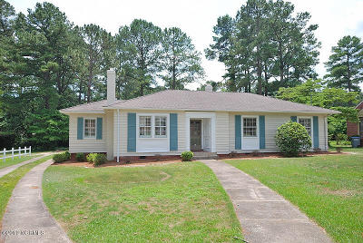Rocky Mount NC Single Family Home For Sale: $124,900