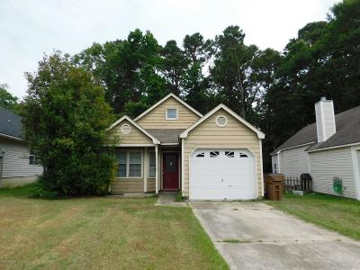 Jacksonville NC Single Family Home Active Contingent: $80,000