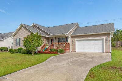 Holly Ridge Single Family Home For Sale: 204 Oak Ridge Lane