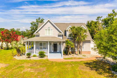 Morehead City Single Family Home For Sale: 210 Pamlico Avenue