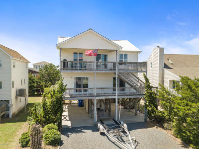 Holden Beach Island, Holden Beach Mainland Single Family Home For Sale: 207 Gerda Street