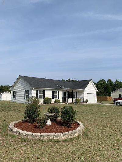 Sneads Ferry Single Family Home For Sale: 105 Granny Drive