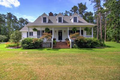 Beaufort Single Family Home For Sale: 201 Jonaquins Drive