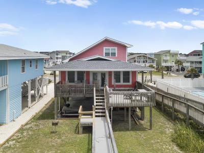 Holden Beach Single Family Home For Sale: 569 Ocean Boulevard W