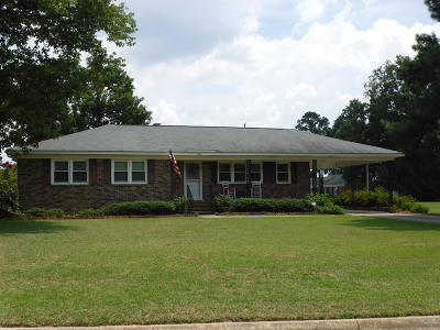 Rocky Mount Single Family Home For Sale: 201 Alexander Drive