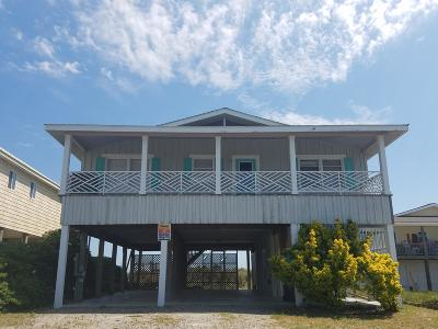Holden Beach Single Family Home For Sale: 187 Ocean Boulevard W