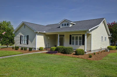 Morehead City Single Family Home For Sale: 103 Sleepy Court