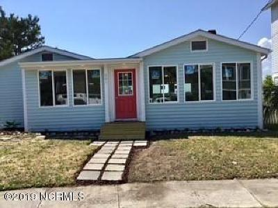 Wrightsville Beach Single Family Home For Sale: 501 N Channel Drive