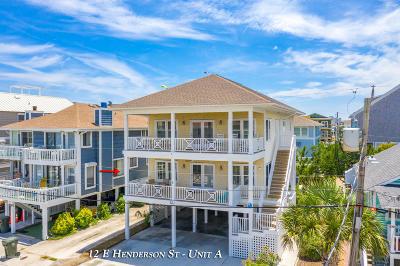 Wrightsville Beach Condo/Townhouse For Sale: 12 E Henderson Street #A