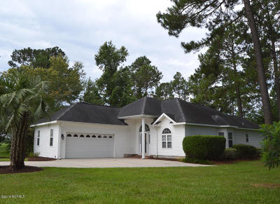 Brunswick Plantation Single Family Home For Sale: 8865 Lagonia Court NW