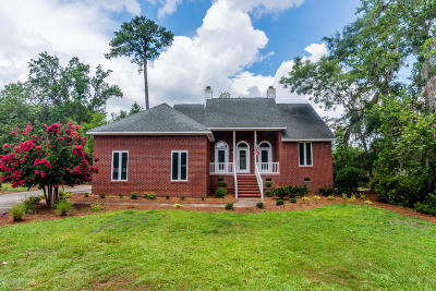 New Bern Single Family Home For Sale: 180 Hawks Pond Road