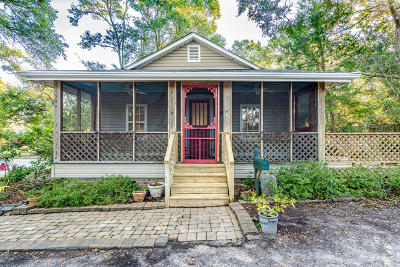Southport Single Family Home For Sale: 316 N Caswell Avenue