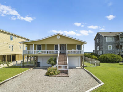 Holden Beach Island, Holden Beach Mainland Single Family Home For Sale: 1211 Ocean Boulevard W