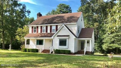 Rocky Mount Single Family Home For Sale: 1808 Willow Glynn Road