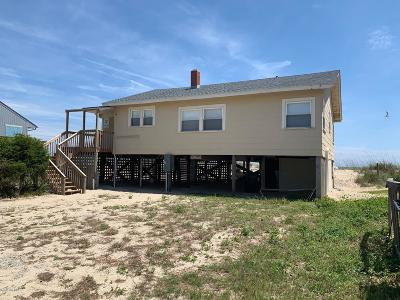 Oak Island Single Family Home For Sale: 303 E Beach Drive