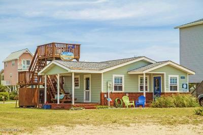 Oak Island Single Family Home For Sale: 2614 E Beach Drive