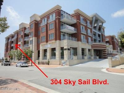 New Bern Condo/Townhouse For Sale: 304 Sky Sail Boulevard #304