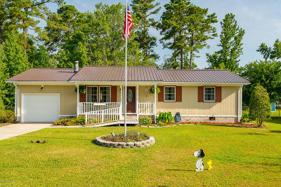 Havelock NC Single Family Home For Sale: $132,000