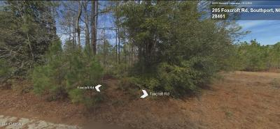 Boiling Spring Lakes Residential Lots & Land For Sale: 283 Foxcroft Road