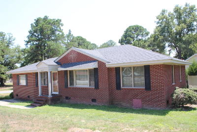 Rocky Mount Single Family Home For Sale: 1613 Hunter Hill Road