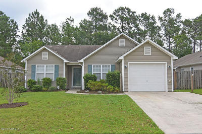 Leland Single Family Home For Sale: 1134 Amber Pines Drive