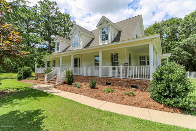 Edgecombe County Single Family Home For Sale: 712 Wellington Lane