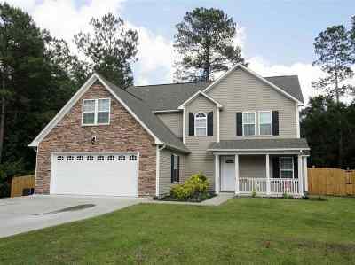 Blue Creek Farms, Blue Creek Farms Section Ii Single Family Home For Sale: 513 Blue Angel Court