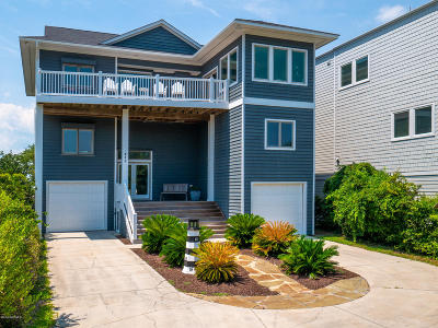 Topsail Beach Single Family Home For Sale: 410 N Anderson Boulevard #C