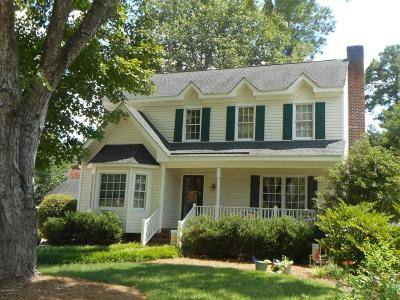 Rocky Mount Single Family Home Active Contingent: 4013 Carybrook Court