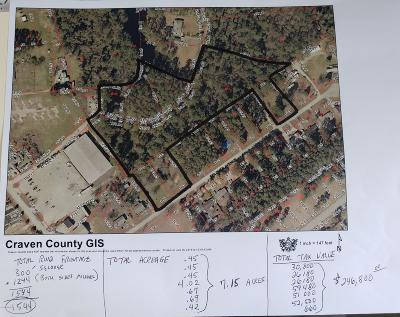 New Bern Residential Lots & Land For Sale: Selover Ave & Michael Dr. Avenue