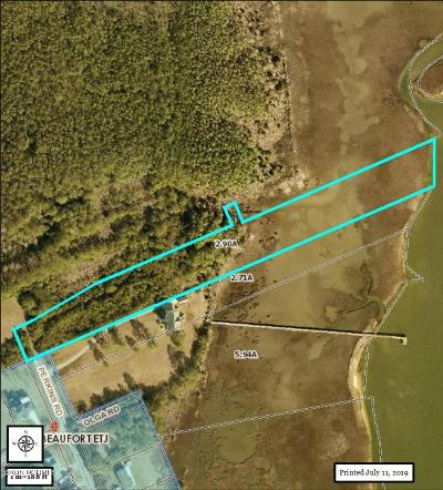 Beaufort Residential Lots & Land For Sale: 406 Perkins Road